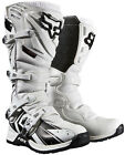 NEW FOX RACING COMP 5 UNDERTOW MOTOCROSS MX DIRTBIKE BOOTS WHITE ALL SIZES