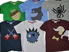 Mini Boden Applique Short Sleeved T-shirt Top Best Fit 7-8 (wrong size on label)