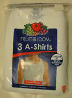 Men's FRUIT OF THE LOOM a-shirts S, M, L, XL NWT