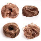 4 Styles Selectable Pony Tail Hair Extension Bun Hairpiece Scrunchie