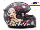 KBC XP3 LADY KILLER II FULL FACE MOTORCYCLE MOTORBIKE CRASH HELMET ALL SIZES J&S