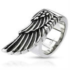 Mens Egyptian Wing Ring Stainless Steel