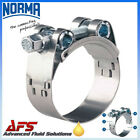 W2 NORMA Stainless Supra Heavy Duty Hose Clamp Exhaust Pipe Turbo Clip Mikalor