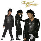 FANCY DRESS COSTUME # MENS MICHAEL JACKSON BILLIE JEAN + WIG RRP £104.98 FDDD