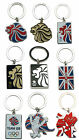 Team GB London 2012 Olympic Gold Lion Union Flag Key Ring Chain Christmas Gift