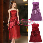 A-Line Ruffle Sheath Ruched Long Bridesmaid Evening Gown Party Dress UJ3211