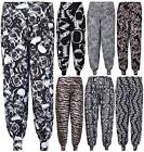 New Womens Hareem Baggy Trousers Ladies Printed Long Harem Pants Plus Size 12-26
