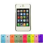 For Apple iPhone 4S 4 Ultra Slim Transparent  Phone Case Cover Various Colors