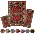 Kyпить Traditional Medallion Persian 3 Pcs Area Rug Oriental Bordered Runner Mat Set на еВаy.соm