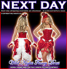 CHRISTMAS FANCY DRESS # SEXY LADIES BURLESQUE COSTUME SANTA BABY