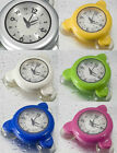 Bathroom Shower Kitchen Clock water resistant full color