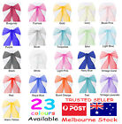 30 Crystal Organza Chair Sashes Cloth Cover Wedding Party Decoratio Table Runner