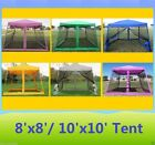 8x8 8'x8'/10'x10' Pop Up Canopy Party Tent Gazebo EZ w Ne...