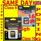 16gb SDHC Memory Card to Panasonic Lumix DMC-F, -FH, -FP, -FT, FZ Series Camera