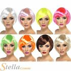 Ladies Babe Wig Short Bob Wigs Fancy Dress Costume Outfit Accessory - 8 Colours