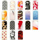 16pcs Nail Foil Nail Art Sticker Patch Nail Wraps for Fingers & Toes 295312