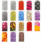 16pcs Nail Foil Nail Art Sticker Patch Nail Wraps for Fingers & Toes 277294