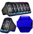 XL-GYM Running Armband Sport Case Cover Pouch + i-Headset For Samsung ZTE n More