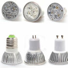 High Power GU10 GU5.3 E27 3W 4W 5W Ultra Bright LED Spot Light Lamp Bulb 85-265V