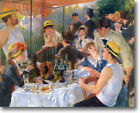 HUGE Renoir Boating Party Stretched Canvas Giclee Art Repro Print ALL SIZES