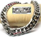 MENS Stainless Steel Heavy 13mm SIX FACETED Cuban Curb Necklace HAND POLISHED