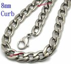 MEN High Quality STAINLESS STEEL CURB CUBAN Chain NECKLACE