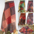 Gypsy patchwork Wickel-Rock Indien Inde Nepal goa jupe psy skirt nomad hippy