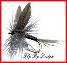 Blue Quill Dry Fly Fishing Flies - Choice of Size