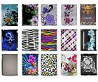 For iPad 3 2 Gen Zebra Flower Skull Design Hard Cover Case