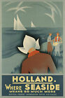 Vintage 1936 HOLLAND Travel/Promotional Poster A1A2A3A4Sizes