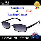 Gift Idea G&G Men Whole Lens Tinted Reading Glasses 3.0 3.5 4.0 only