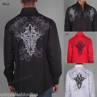 Men's Stylish Casual Fashion Design Shirt  Black/White    M L XL 2XL 3XL 4XL