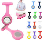 Hospitals Silicone Women Cheap Nurse Medical Doctor Watch Brooch Tunic Fob New