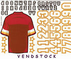 "2 NFL FOOTBALL BUILD YOUR TEAM JERSEY STICKERS 3""x3.5"" ADD YOUR NAME"