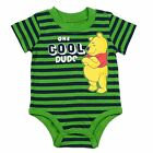 Winnie The Pooh Cool Dude Romper Suit Ages 3-9 months  New Free UK Postage
