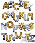 "MEGALOONS Party Balloon Letters Silver and Gold Megaloon 40"" Mylar U PICK"