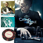 "JAMES BOND 007 - Original Prop ""CASINO ROYALE"" Casino Poker Chips £4.99 GBP on eBay"