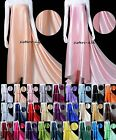 16MM 100% MULBERRY SILK CHARMEUSE  FABRIC Wedding Dress 30 Colours