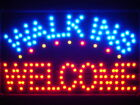 led080-r Walk Ins Welcome LED Neon Sign WhiteBoard