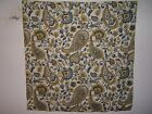 Fabric remnants for crafts paisley Kravet Chaucer Paisley