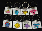 Quality Mr. Men and Little Miss Keyrings Ideal Gift Present, Collactable