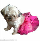 Dog Tutu Neon Pink Green Discs Pet Clothing All Sizes Doggy clothes Fanccy Dress