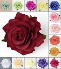 8P* 4Inch Artificial Silk Rose Flower Heads For Party Beach Shoes Wedding Decors