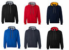 Gildan Heavy Blend Hooded Sweatshirt with Contrast color Lining 185C00 New Brand