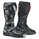 NEW SIDI AGUEDA MX MOTOCROSS DIRTBIKE OFFROAD BOOTS BLACK ALL SIZES
