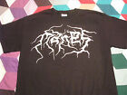 manes logo t shirt death black metal mayhem beherit blasphemy burzum slayer