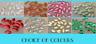 **SALE** Hotfix Oval/Leaves Nail-heads - WAS £6.25 - Choice of 8 Colours
