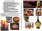 Turned Lidded Boxes With Your Wood Lathe - 2 How-To DVDs + Bonus Report $50 Hr