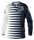 NEW 2014 TROY LEE DESIGNS GP JOKER MX DIRT BIKE JERSEY NAVY / WHITE ALL SIZES