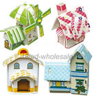New Fashion Kid DIY 3D Paper Puzzle Educational Toys Gift House Model